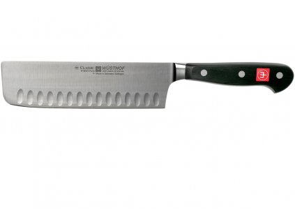 Japonský nůž Nakiri 17 cm výbrus, Wüsthof Classic