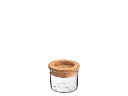 ZASSENHAUS Dóza na potraviny korek sklo 150 ml 1
