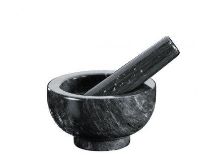 Küchenprofi Hmoždíř mramor černý