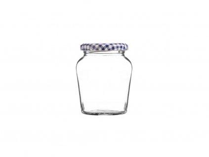 Kilner Oblá zavařovací sklenice se šroubováním 260 ml