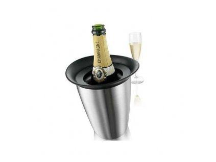 VacuVin Chladič na šampaňské Elegant nerezový
