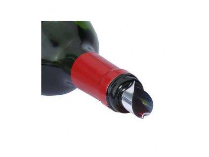 Peugeot Antigoutte pocínovaná nálevka na víno (2 ks)