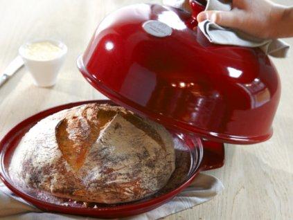 Emile Henry set na pečení chleba granátový