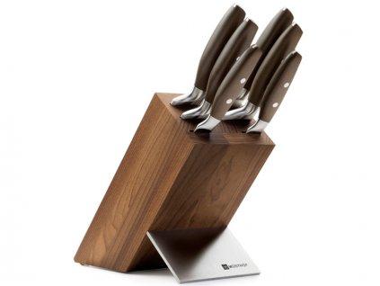 Blok s noži Wüsthof Epicure, 6 dílů