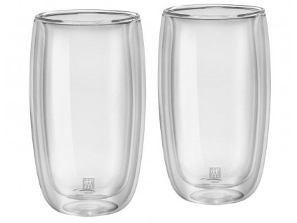 Zwilling Sorrento Set šálků na latte macchiato 350 ml, 2 ks 1
