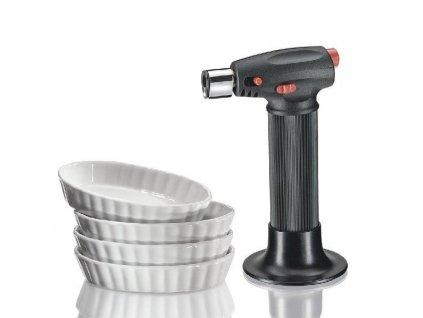 Küchenprofi Set na créme brulée