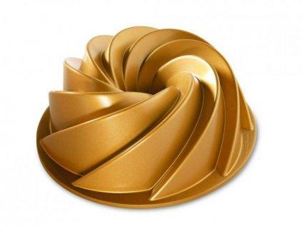 Nordic Ware Bábovka Heritage velká zlatá