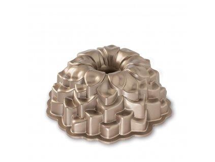 Nordic Ware forma na bábovku chryzantéma, měděná