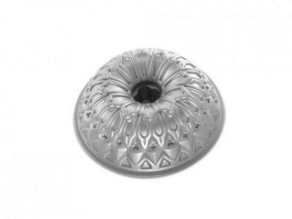 Nordic Ware forma na bábovku Royal 9cup stříbrná