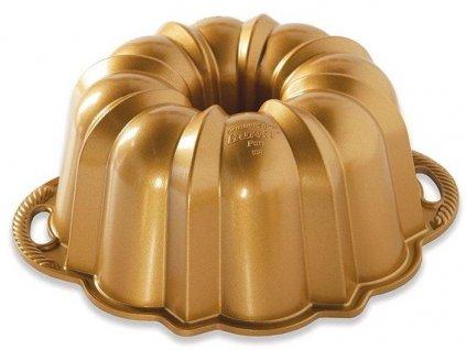 Nordic Ware Babovka Anniversary velká 12 cup zlatá