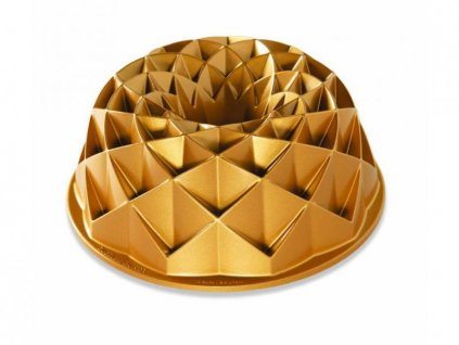 Nordic Ware Bábovka Jubilee 10 cup zlatá