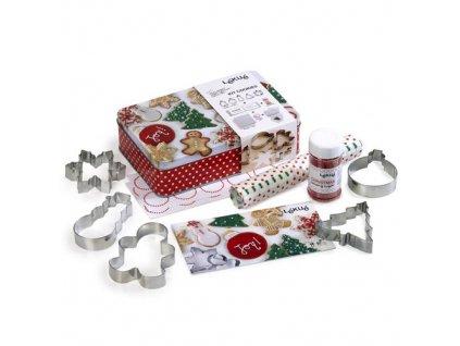 Lékué Vánoční set Cookies Kit