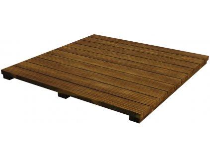 Výplň z akátového dřeva