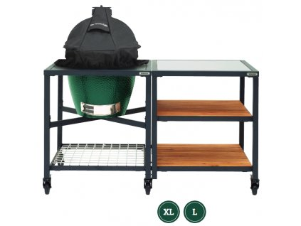 Obal na víko EGG ve stole L, XL Big Green Egg