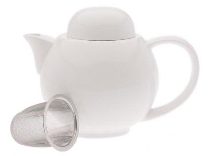 Porcelánová Konvice se sítkem White Basics 0,7 l