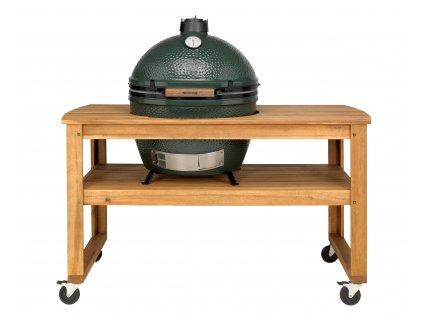 Big Green Egg akátový stůl pro XL (bez koleček)