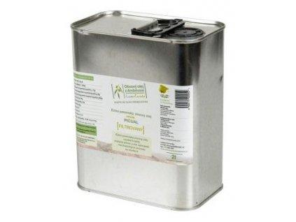 LozanoČervenka Extra panenský olivový olej, Picual 2 l