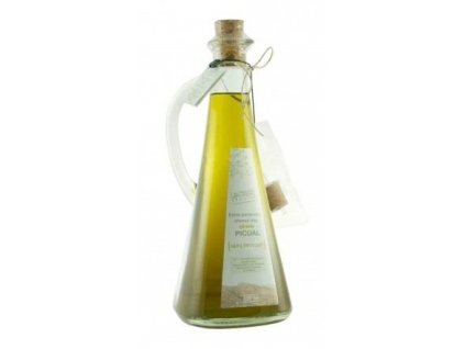 LozanoČervenka Extra panenský olivový olej nefiltrovaný, karafa, Picual 500 ml