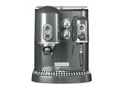 KitchenAid Pákový espresso kávovar Artisan 5KES2102 stříbřitě šedá