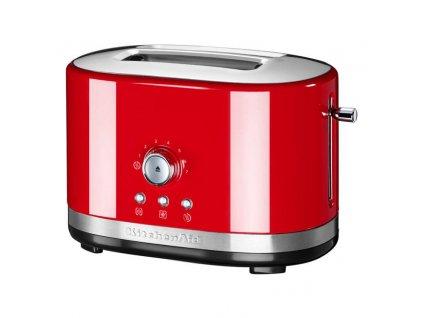 KitchenAid toustovač 5KMT2116 s manuálním ovládáním - královská červená