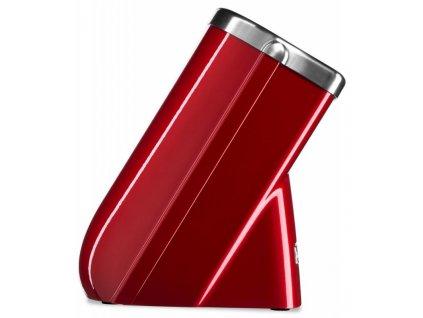 KitchenAid blok na nože, 10 slotů + 1x nůž, červená metalíza