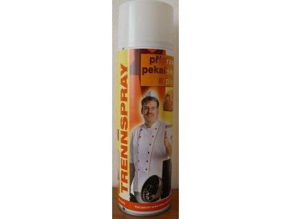 Trennspray přípravekna pekařské formy a plechy 1
