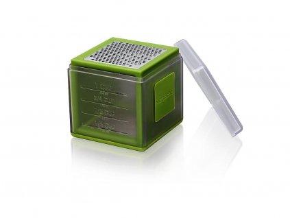 Microplane multifunkční struhadlo kostka, zelená