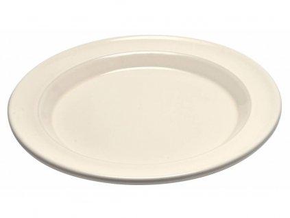 Emile Henry jídelní talíř slonová kost 28 cm