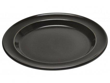 Emile Henry jídelní talíř pepřový 28 cm
