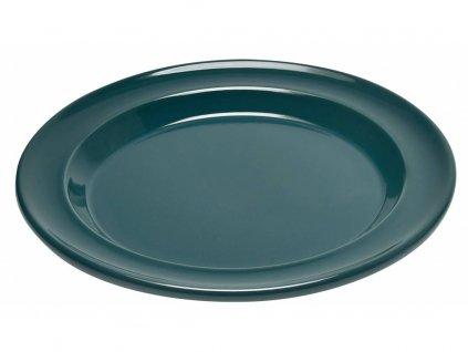 Emile Henry jídelní talíř mákový