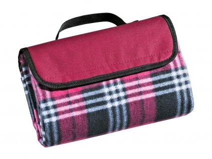 Cilio pikniková deka Weekend 145 x 130 cm, růžová 1