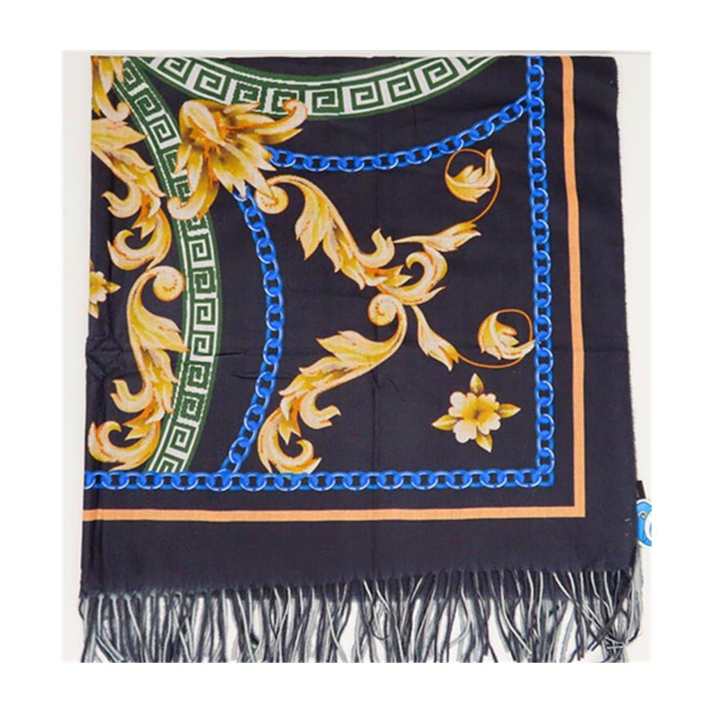 Šátek 120 x 120 cm ornament