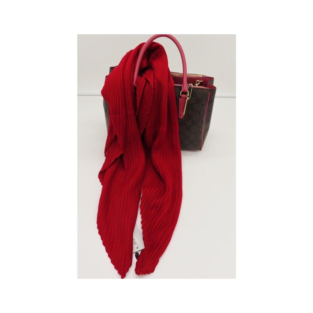 Tunelový šátek jednobarevný vínová obr. 1