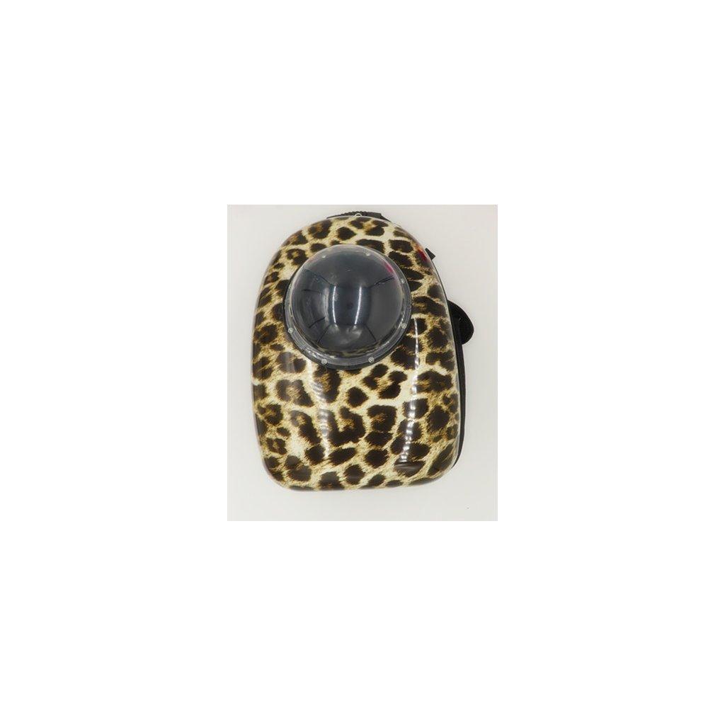 Batoh na domácí mazlíčky 42x29x24 cm leopard