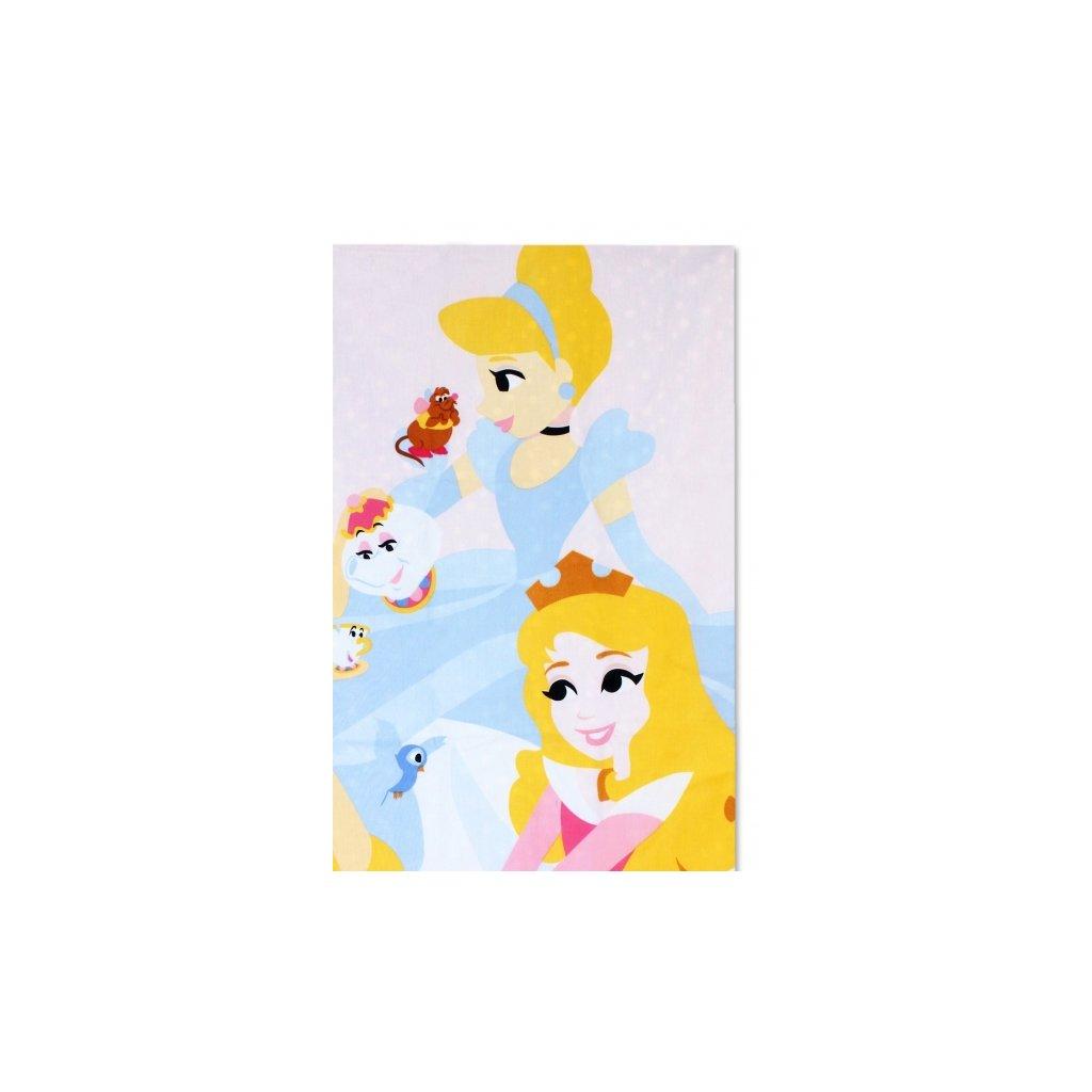 Dětské dvoudílné povlečení 90 x 140 cm princezny obr. 2