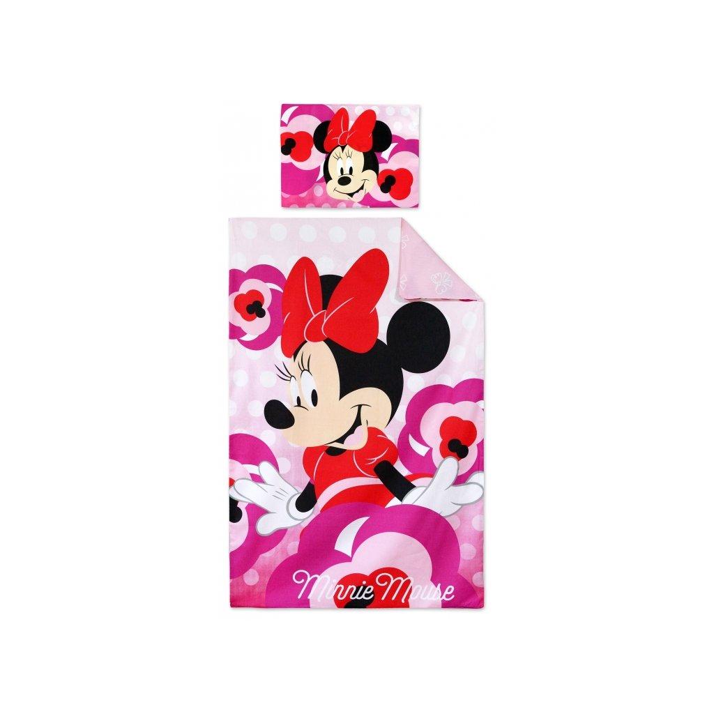 Dětské dvoudílné povlečení 90 x 140 cm Minnie