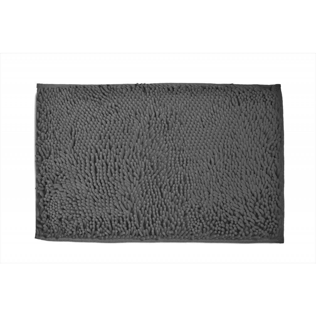 Koupelnová předložka 40x60 cm šedá tmavá