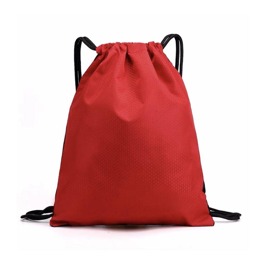 Sportovní vak na záda 42 x 34 cm červená