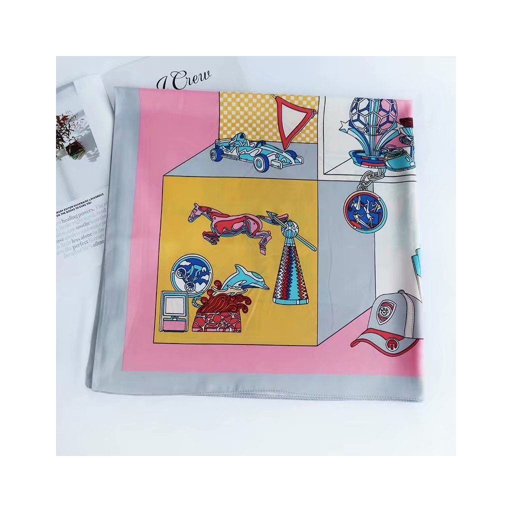 Šátek 90 x 90 cm hračky JKP175-318