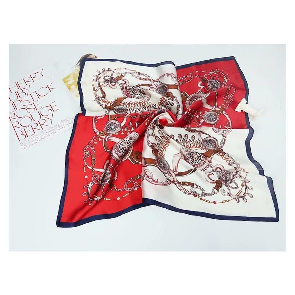Šátek 70 x 70 cm ornament JK163 210