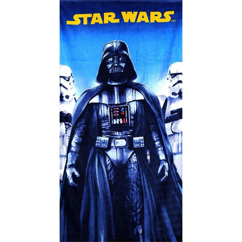 Plážová osuška Star Wars - Darth Vader 70 x 140 cm