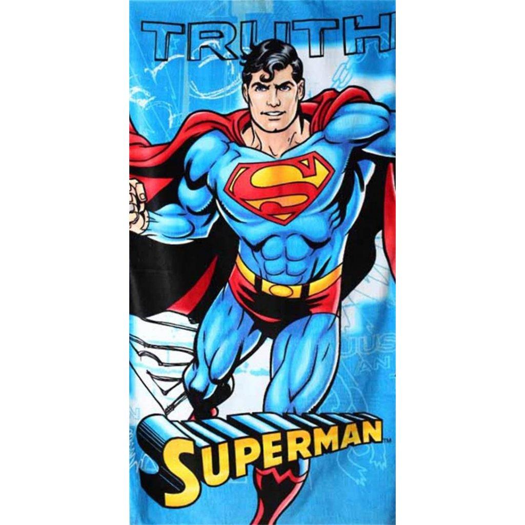 Plážová osuška Superman 70 x 140 cm