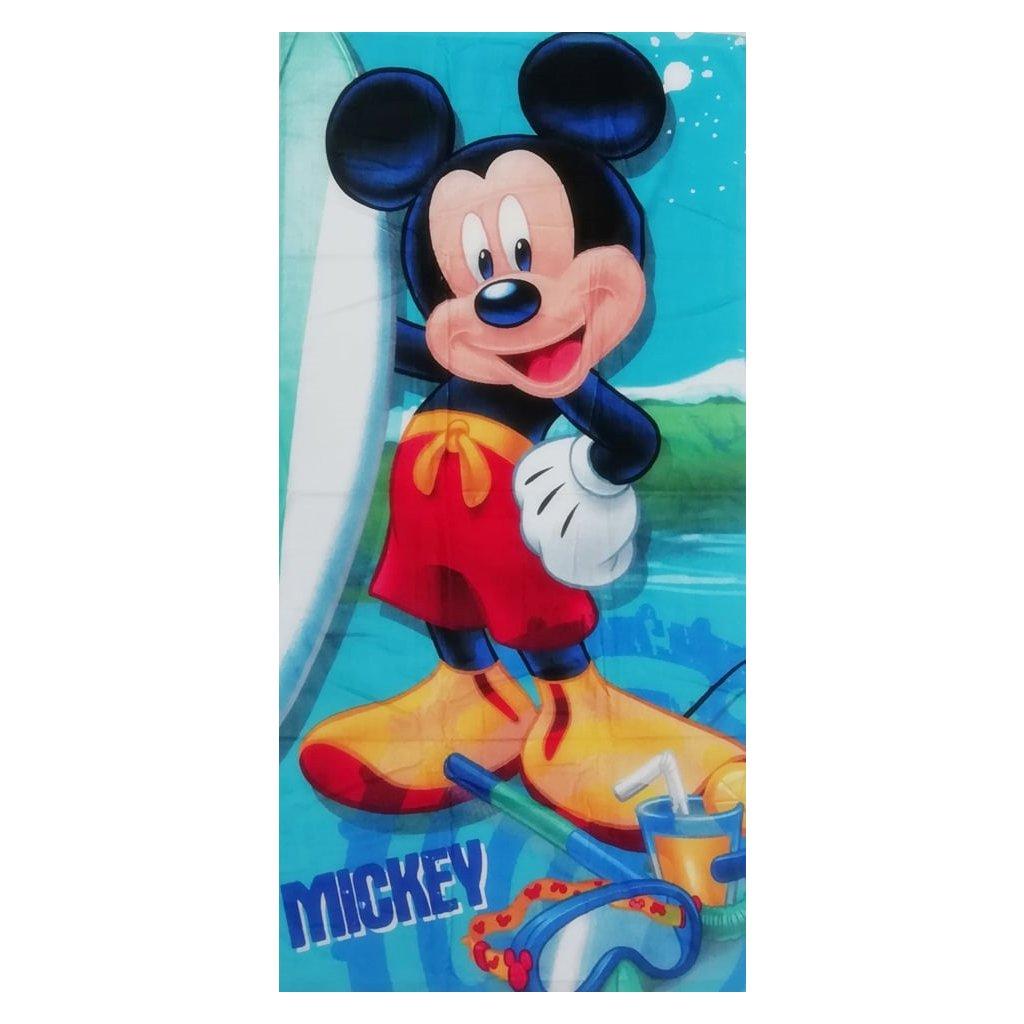 Plážová osuška Myšák Mickey 70 x 140 cm