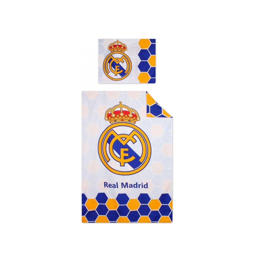 Dvoudílné povlečení 140 x 200 cm Real Madrid