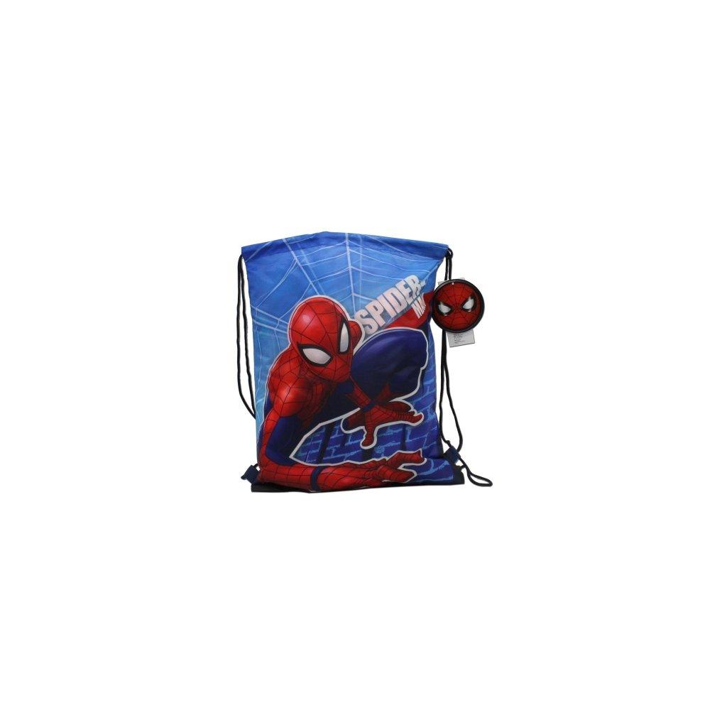 Vak na přezůvky Spiderman 40 x 32 cm