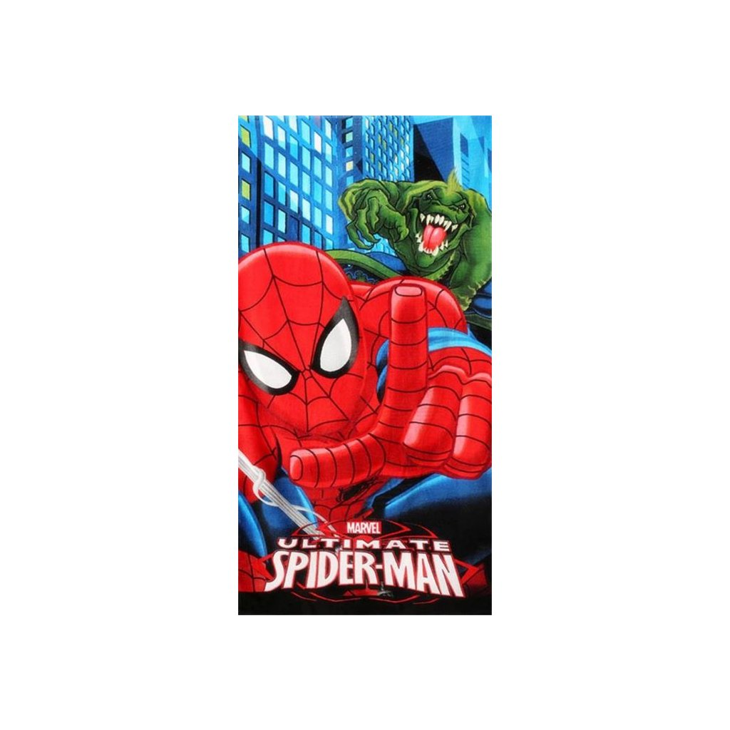 Plážová osuška Spiderman 70 x 140 cm