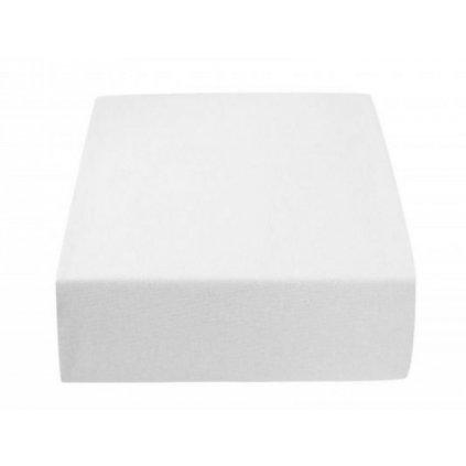 Prostěradlo 180 x 200 cm bílá