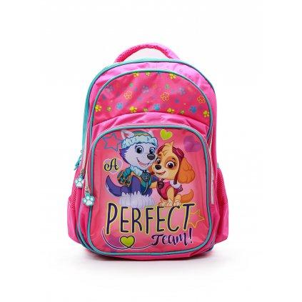 Školní batoh Tlapková patrola růžová obr. 1
