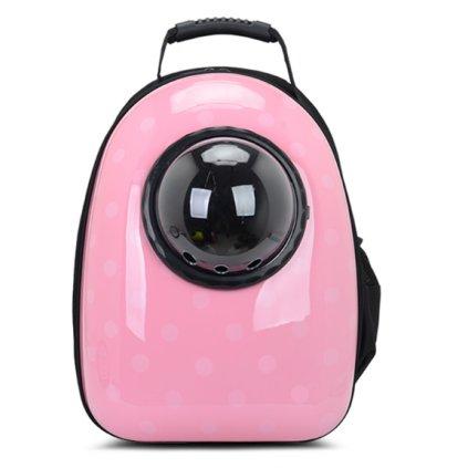 Batoh na domácí mazlíčky 42x29x24 cm růžová obr. 1