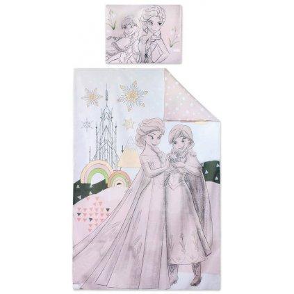Dětské povlečení 90 x 140 cm Ledové království